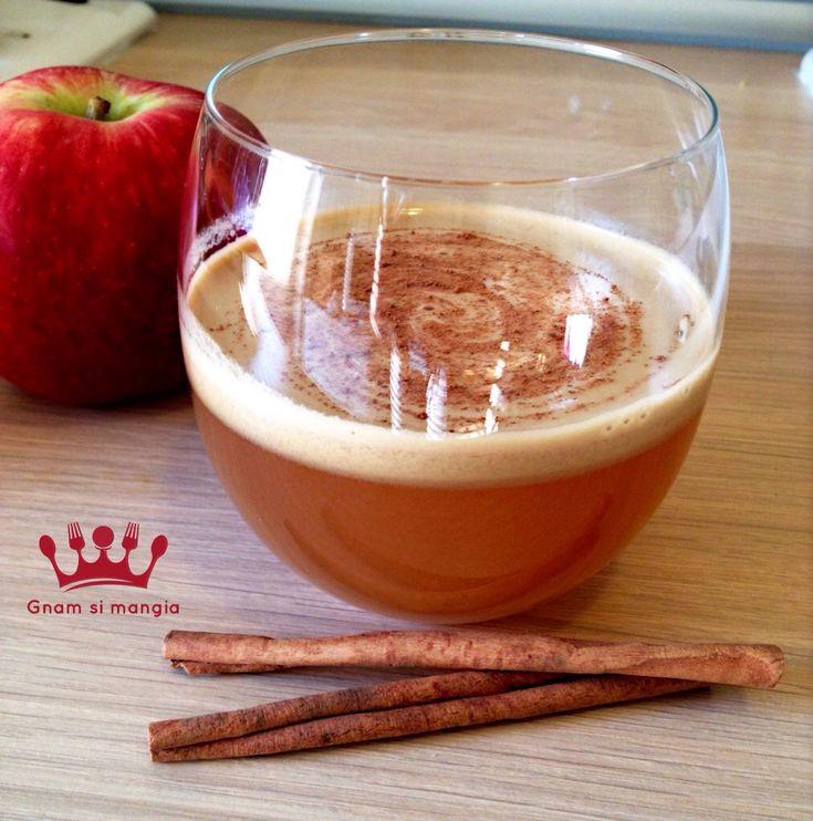 Centrifugato mela e cannella | Gnam si mangia