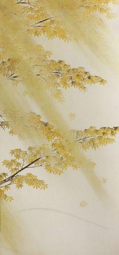 横山大観「春風秋雨(秋雨)2」【襖紙】   絵画プリントグッズの通販 ORIE original