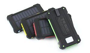 Groupon-Gutschein - Power-Bank mit Solarzellen 10.000 mAh in der Farbe der Wahl, inkl. Versand (75% sparen*). Groupon-Deal-Preis: 19,89 €