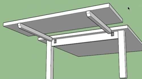 fabriquer rallonge table table de lit furniture. Black Bedroom Furniture Sets. Home Design Ideas