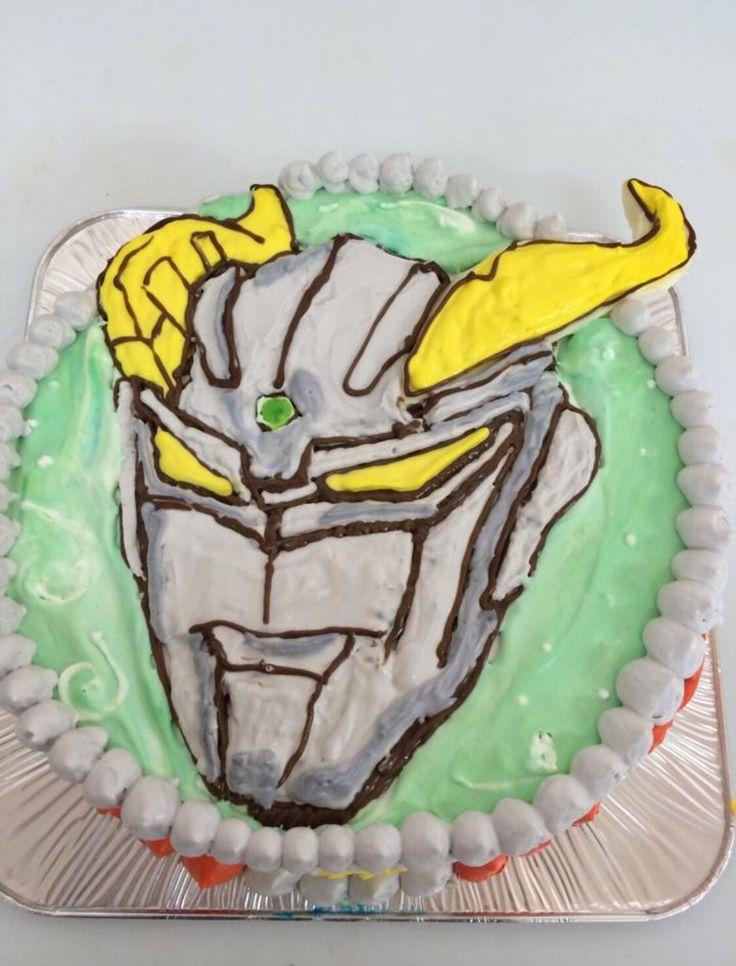 こちらも変身ケーキです。(≧∇≦)