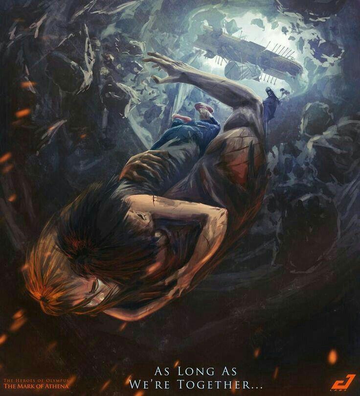Percy Jackson and Annabeth love....