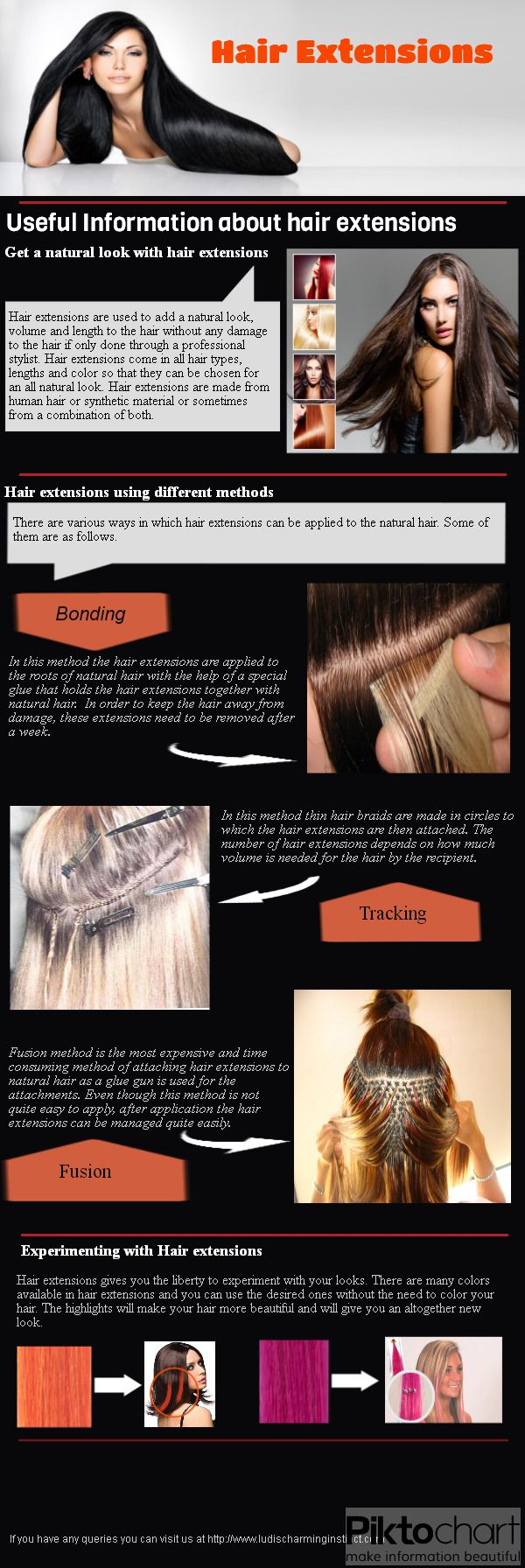 There Are Various Methods By Which Hair Extensions Can Be Attached To The  Natural Hair And