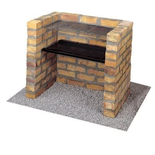 Brick Grills And Outdoor Countertops Building Your: DIY Charcoal Grill Brick BBQ