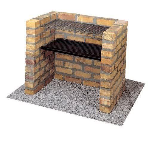 DIY Charcoal Grill Brick BBQ