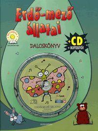 Erdő-mező állatai (CD+kifestő) könyv - Dalnok Kiadó Zene- és DVD Áruház - Gyerekkönyvek és ifjúsági könyvek - Versek, dalok, mondókák