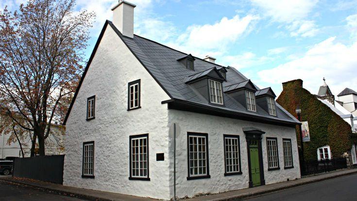 Maison Georges De Gannes (1756) - Major des troupes de la Marine aux Trois-Rivières. Plus tard habitée par le juge Vallières de St-Réal.