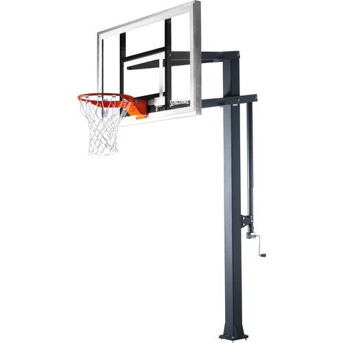 Spalding NBA Arena® Series II Inground Pole 000 - Basketball Systems at Academy Sports
