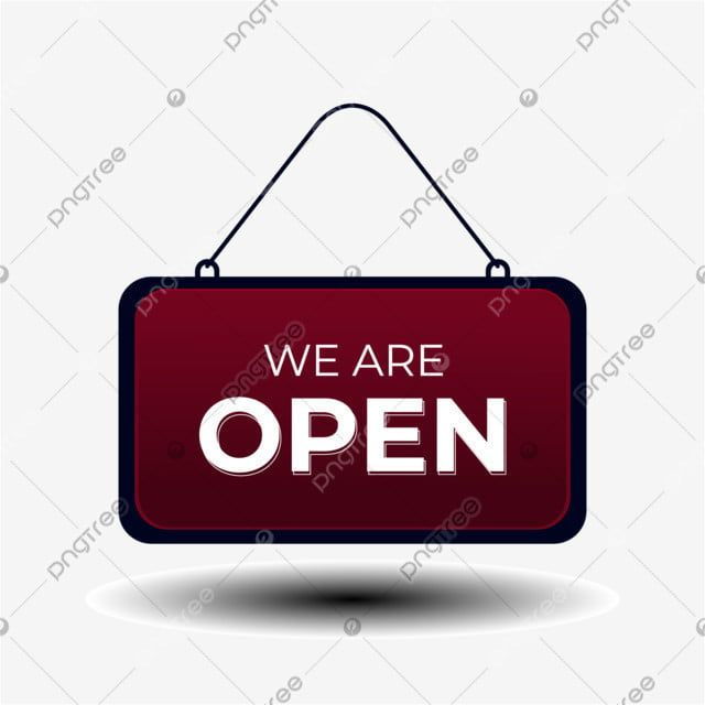 Hanging We Are Open Sign Sign Clipart Open Reopen Png And Vector With Transparent Background For Free Download Geometric Pattern Background We Are Open Sign Open Signs
