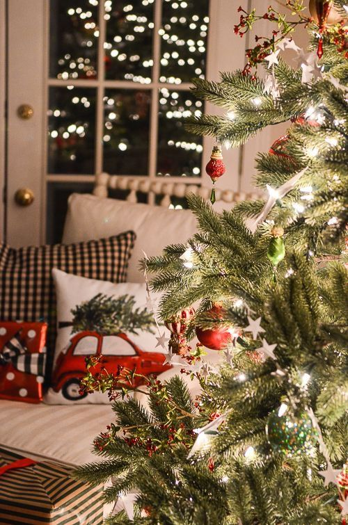 1000 Ideas About Country Christmas Trees On Pinterest
