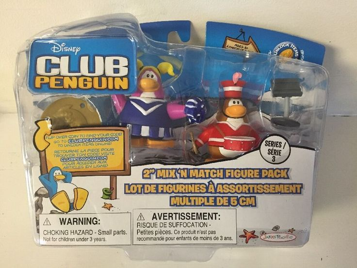 Disney Club Penguin Series 3 Cheerleader & Marching Band Figure Pack NEW & RARE! | Toys & Hobbies, TV, Movie & Character Toys, Disney | eBay!