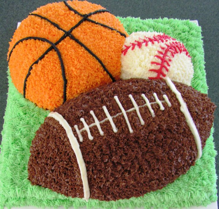 Ball Sports! Learn how to create your own amazing cakes…