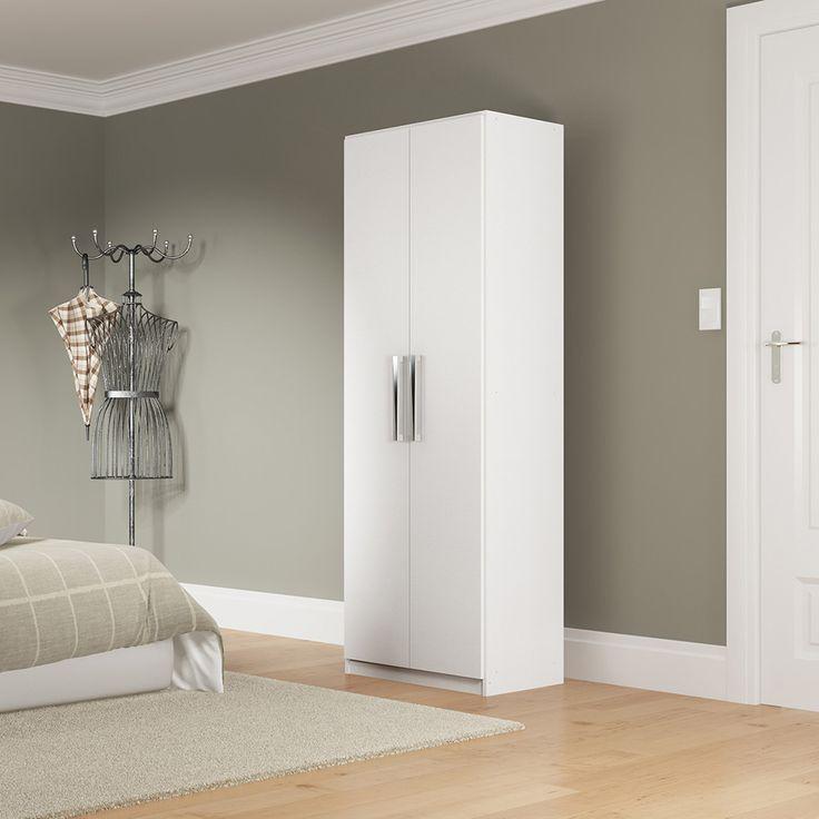 Sapateira Multiuso 2 portas Branco - Rodial