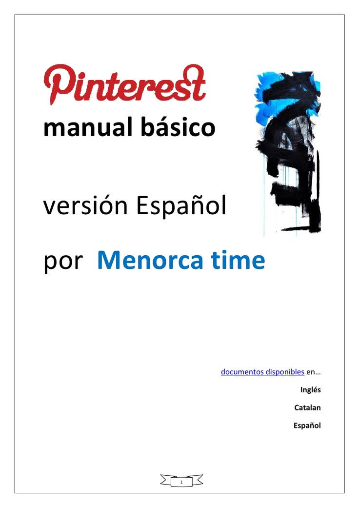 manual-pinterest-v12-espanol-mt by Menorca time via Slideshare