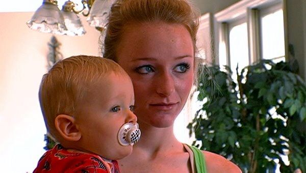 Teen Mom Photo from Season 1 Maci Bookout and son Bentley #maci #bookout #macibookout #teen #mom #teenmom #mtv #16andpregnant