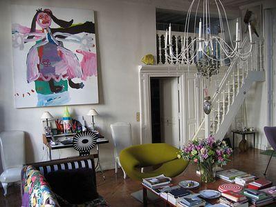Christian lacroix's apartment