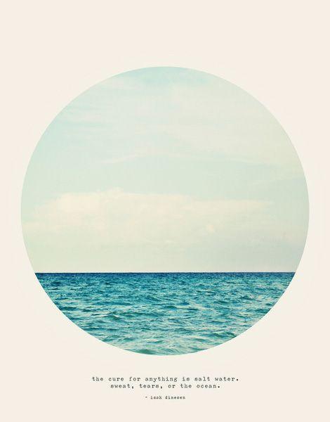 sweat. tears or the ocean. AMEN