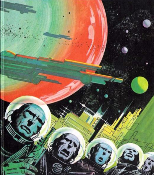 Retro-Futurismus: Klaus Bürgle - Boje-Buchtitelbilder