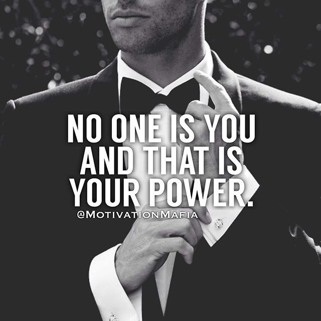 Embrace your power. #motivationmafia