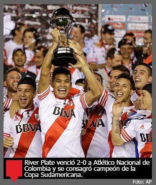 River Plate de Argentina, campeón de la Copa Sudamericana 2014
