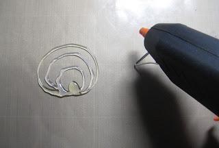 Gelli plate printing en zelfgemaakte stencils!  door Boukje van der Weit.