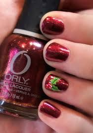 acrylic christmas nail designs – Google Search nageldesign schlicht
