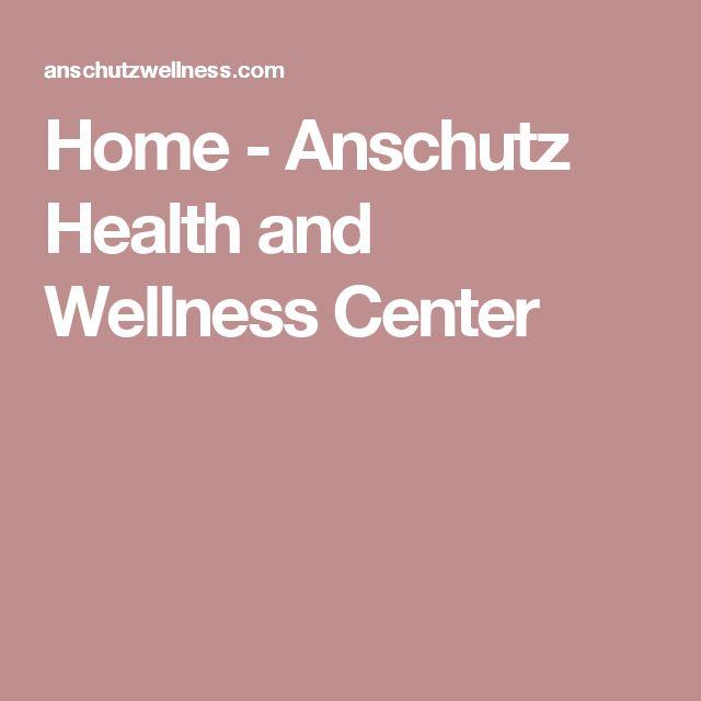 Home - Anschutz Health and Wellness Center