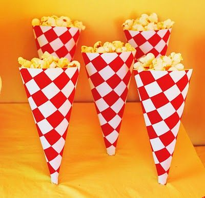 Popcorn cones - easy and loved by most kids!