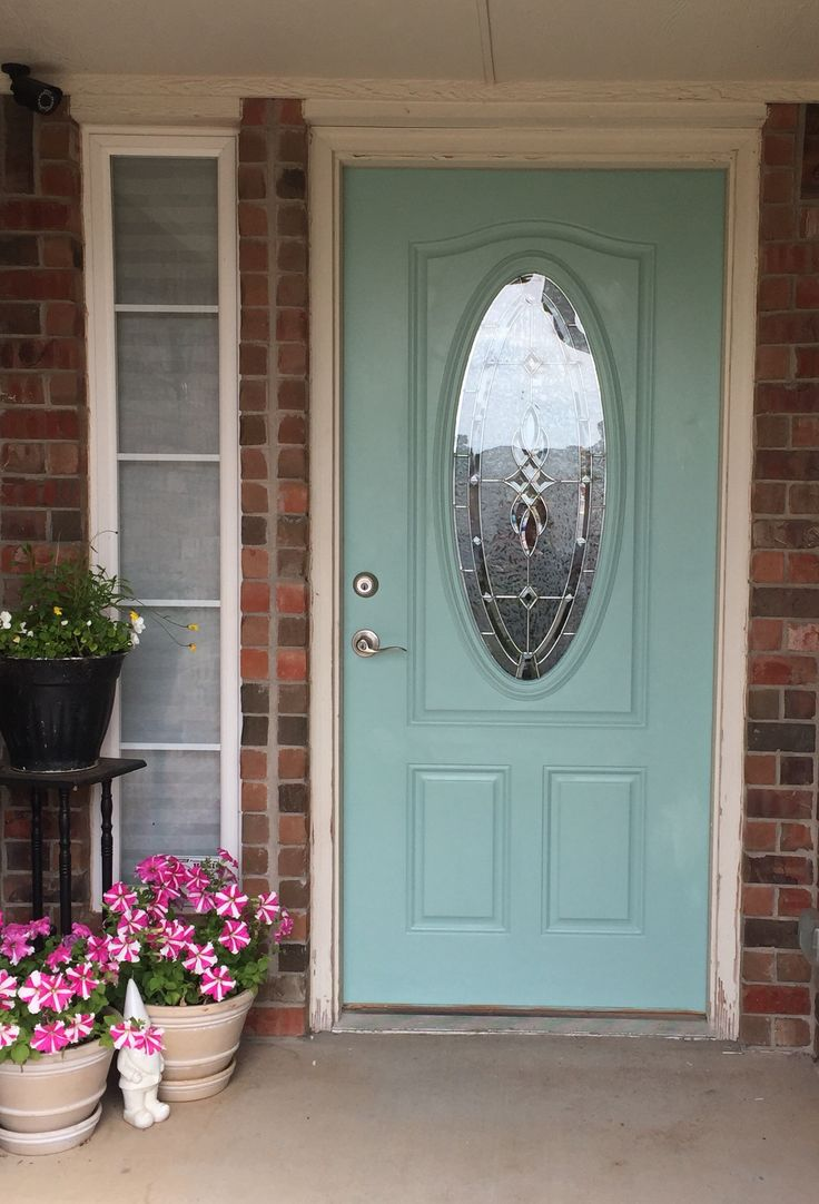 New Door Color Sherwin Williams Hazel Love It New