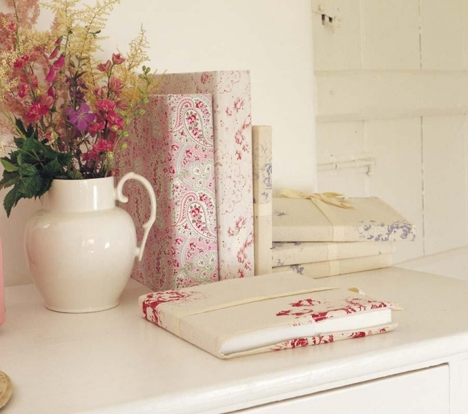 Nice idea, I love a gorgeous notebook and this is how to make your own!