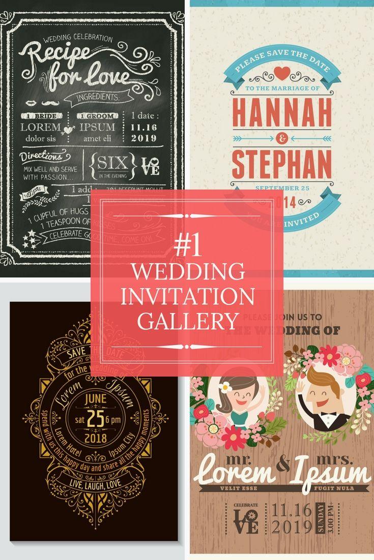 Nice Inexpensive Wedding Invitation Festooning - Invitations and ...
