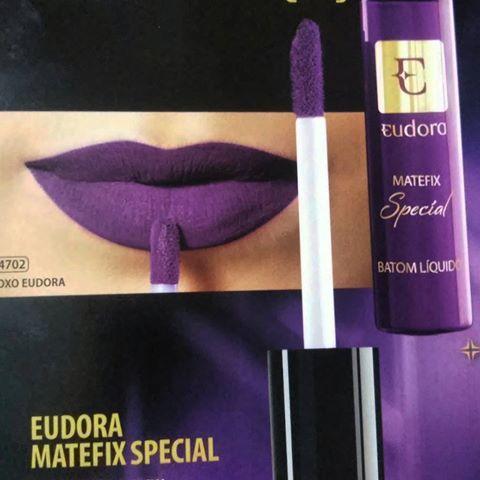 AGUARDEM!!!! Em breve... Lançamento do Batom Líquido Matefix Special Roxo Eudora da @eudoraoficial #batom #batomroxo #batomliquido #batommatte #batomeudora #matefix #eudoramatefix #purplelips #lipstick #lips #lipsticklovers #lips #mattelips #eudora #eudoraoficial #make #makeup #makeeudora #lovemake #batommania #loucasporbatom #temqueter #lovemakeup #maquiagem #maquiagem #loucaspormaquiagem_oficial #loucaspormaquiagem