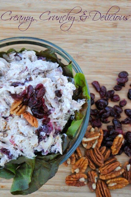 Chicken Salad with Cranberries & Pecans - Cookes Frontier