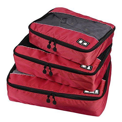 Nuova offerta in #bagaglio : BAIGIO Cubi Di Imballaggio da Viaggi Borse Taglia (SML) Organizzatore per i Bagagli per il Trasporto di Accessori per Valigia Trolley e Zaino da Viaggio Resisitente 3 Pezzi Rosso a soli 16.99 EUR. Affrettati! hai tempo solo fino a 2016-09-29 23:34:00