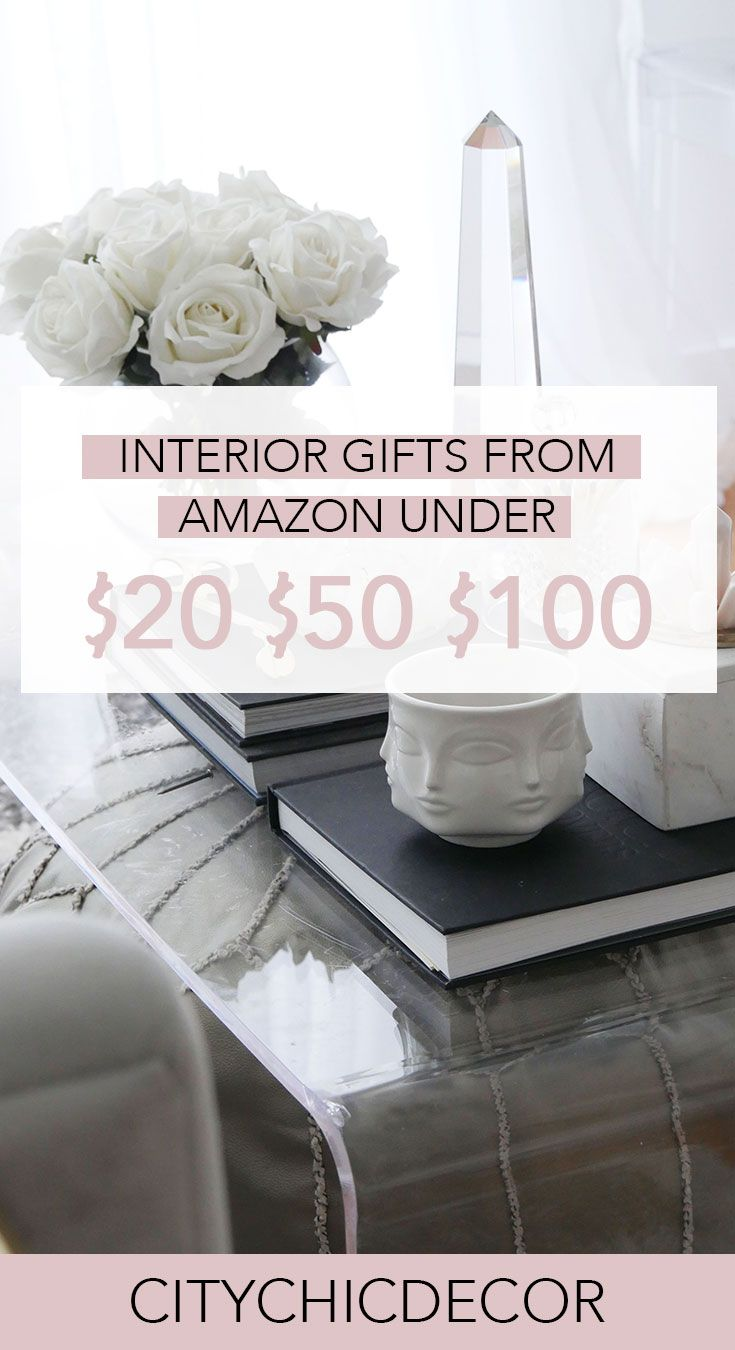 Interior Gifts From Amazon Under 100 50 And 20 City Chic Decor Amazon Home Decor Cheap Apartment Decorating Chic Decor