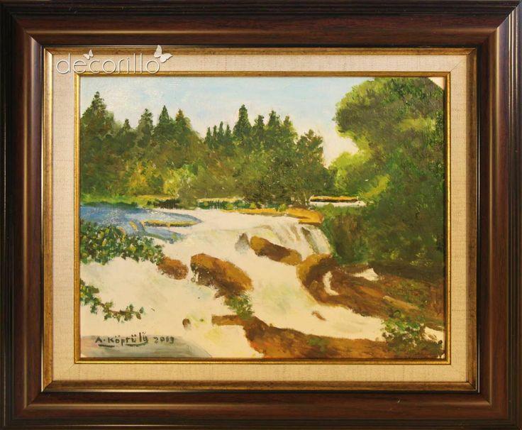Tarsus Şelalesi - Ayhan Köprülü - Decorillo | Elit Zevklerin Buluştuğu Adres | Sanat Eserleri