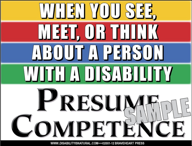 17 best Presume Competence images on Pinterest Professional - presume vs assume
