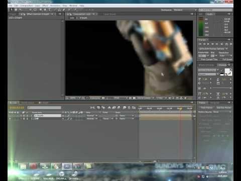 After Effects. Z-Depth DoF (Глубина резкости) example - YouTube