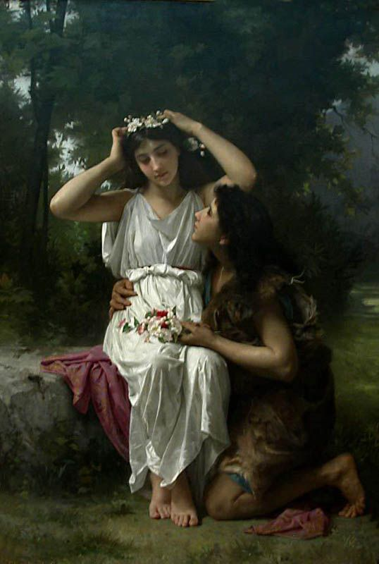 Arcadia and Daphnis and Chloe » nonahyytinen.com.     Daphnis and Chloe by Elizabeth Jane Gardner Bouguereau
