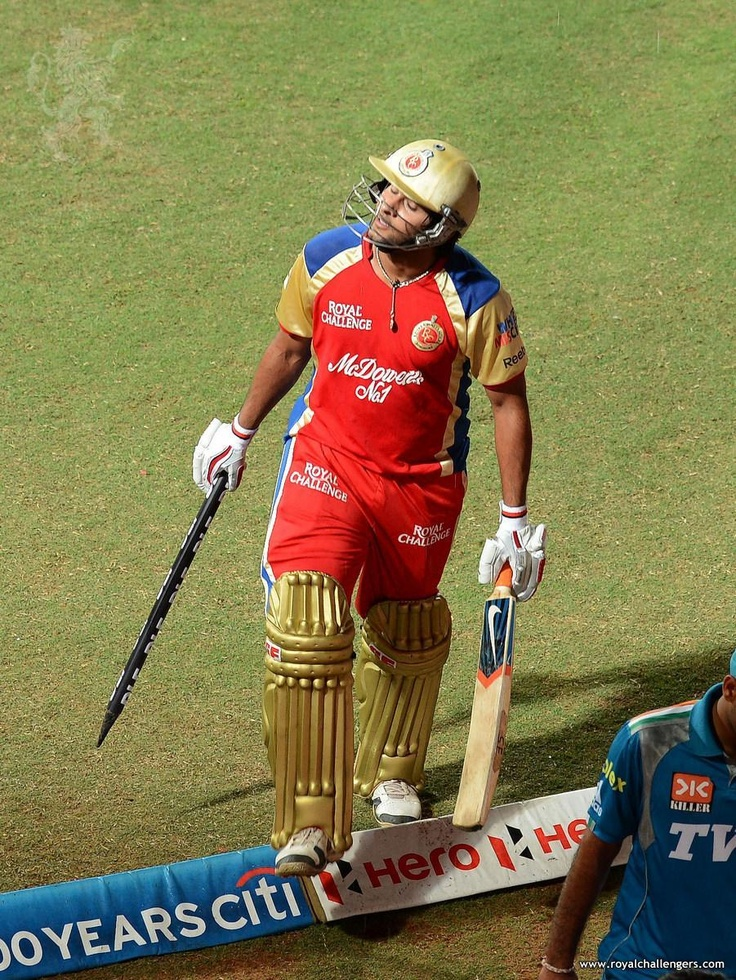 "Match-Winner Saurabh ""Last ball six"" Tiwary!"