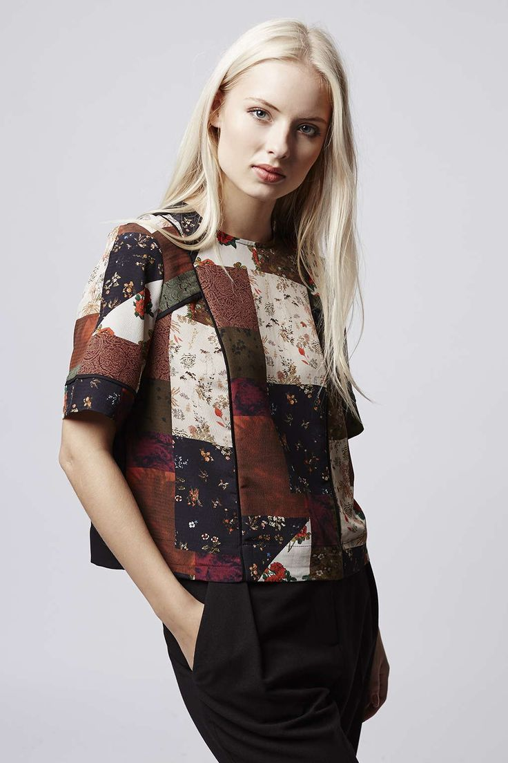 Photo 4 of Patchwork Piped Tee
