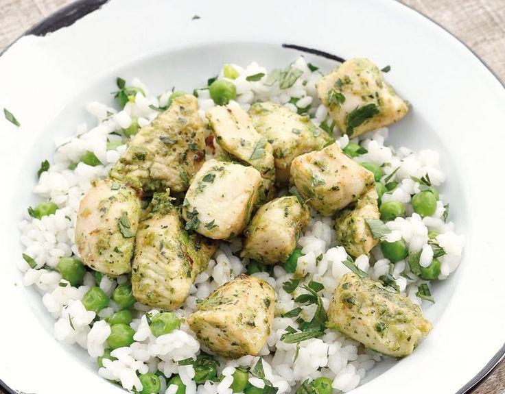 Receta de pavo con salsa verde