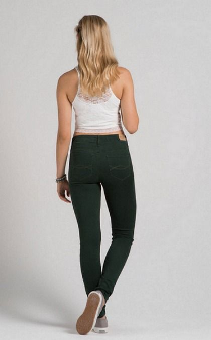 Abercrombie Alyssa Super Skinny High Rise Jeans