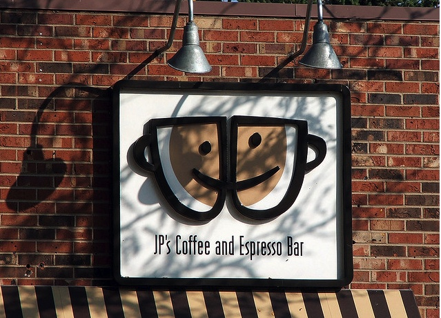 JP's Coffee & Espresso has a wide variety of drinks and delicious treats. It's a great place to meet with friends or hold a business meeting.
