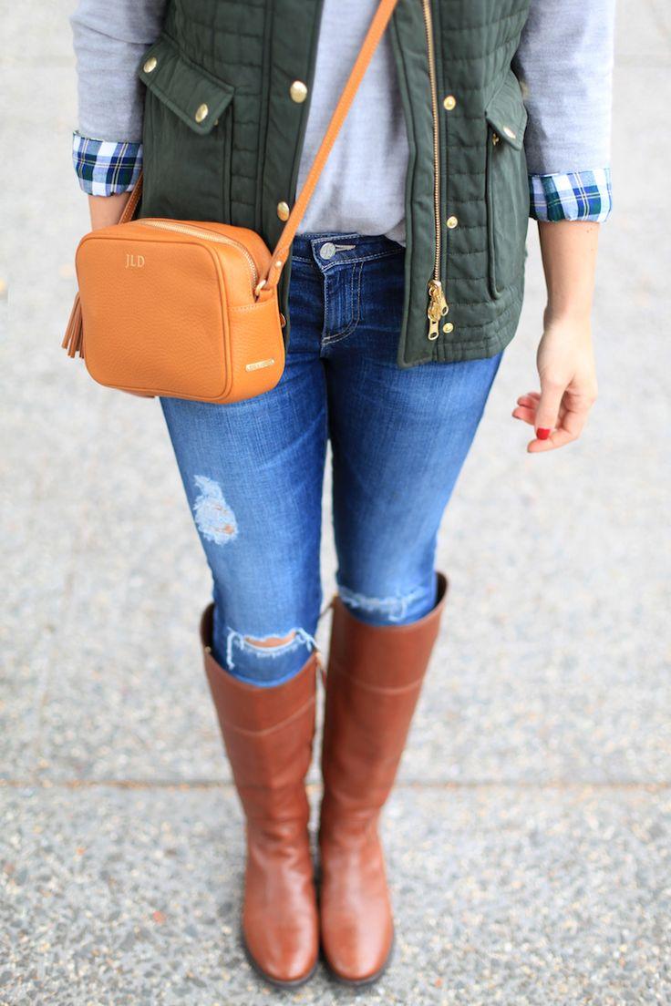 GiGi New York | Lemon & Stripes Fashion Blog | Tan Madison Crossbody