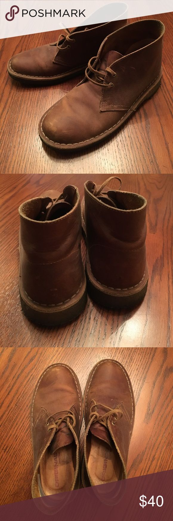 Clarks Boots Used but still in really good condition. A few scuffs but not super worn it at all. Women's size 7.5 38 EUR Clarks Shoes Ankle Boots & Booties