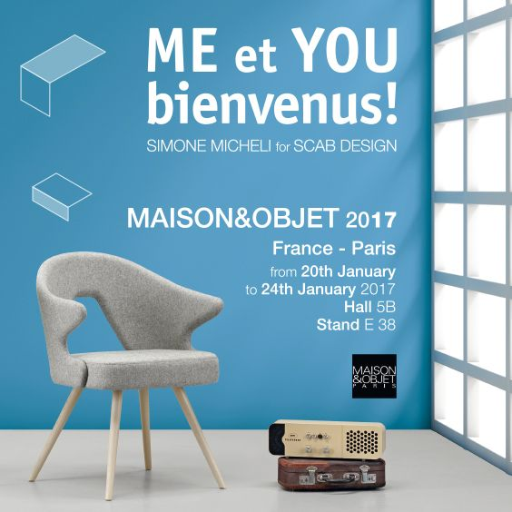 SCAB Design is waiting for you @ M&O - from 20 to 24 January 2017