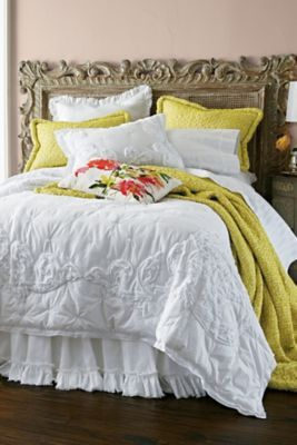Blanc Vigne Quilt from Soft Surroundings
