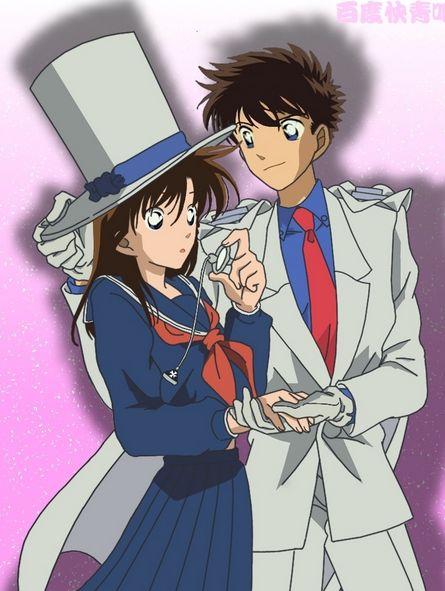 Magic Kaito 1412: Aoko and Kaito Kid