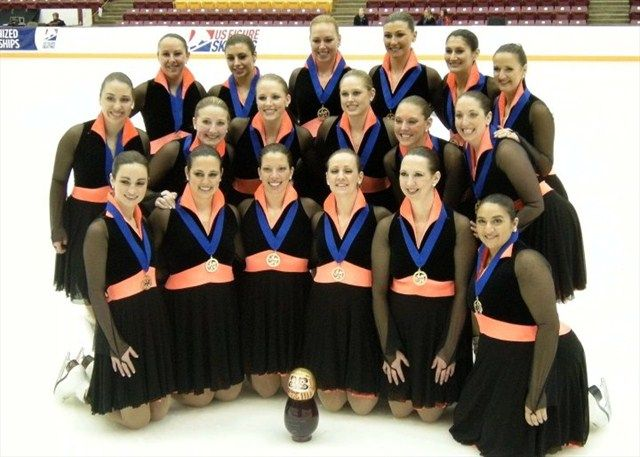 Esprit De Corps Adult, EDCA, US Adult Synchronized Skating National ...